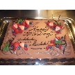 Blue Garden(ブルーガーデン):お客様の御希望でチョコレートケーキに!
