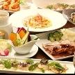 Blue Garden(ブルーガーデン):ゲストからも好評のお料理♪予算に合わせてプランのご相談お受けいたします!