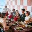 T'SUKI sur la mer(ツキ シュール ラ メール):【歴史ある神社での神前式】芝大神宮×一軒家貸切レストラン