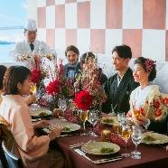 T'SUKI sur la mer(ツキ シュール ラ メール):【歴史ある神社での神前式】芝大神宮×星付料理でおもてなし宴