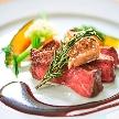 T'SUKI sur la mer(ツキ シュール ラ メール):【食べ比べ試食】牛フィレ&テリーヌ*ドレス&挙式見学フェア