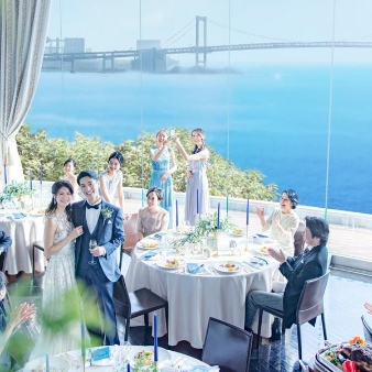 T'SUKI sur la mer(ツキ シュール ラ メール):【おもてなし重視派に】一軒家貸切×星付きレストラン×眺望体験