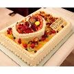 DEPARTURES【デパーチャーズ】:ご希望にあわせて、お二人だけのウエディングケーキもご用意致します。