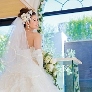 エミリア(Wedding Court EMILIA):♯エミハナ絶賛!【水&光&緑】自然の祝福を受けた挙式体験