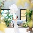 エミリア(Wedding Court EMILIA):【駅から0分!】光のチャペル×プール付ガーデンWフェア