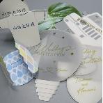 結婚式招待状:ブライダルプリント