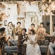 一軒家貸切だから叶う、感動の演出を多数ご提案!一組一組にあった絆を感じる、お洒落な結婚式をオーダーメイドで創ります。シェフと相談してオリジナルメニューでゲストをおもてなし♪お仕事帰りに気軽に立ち寄って