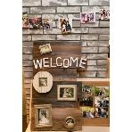 クロッシュブラン&サザンビラ:ウェルカムボードや思い出の写真を飾っておふたりらしい二次会パーティに♪