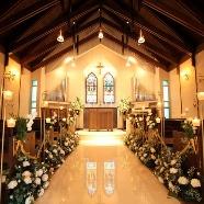 ウイリアムモリス教会:【無料スイーツ付】少人数結婚式にピッタリ!チャペル&会場見学