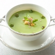 Alice aqua garden Tokyo 銀座:季節の野菜のヴィシソワーズ
