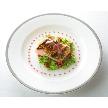 Alice aqua garden Tokyo 銀座:前菜は白身魚のカルパッチョ