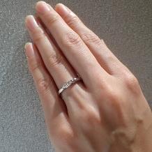 DIYARTH(ディヤース):マーキースカット(鑑定書付き)のダイヤを使った個性が光るリング