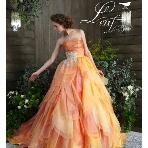 la chambre de Lotta(ラ シャンブル デ ロッタ):花びらのようなデザインが可憐な花嫁を演出!写真写りも抜群のフレッシュなドレス
