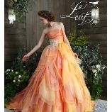 la chambre de Lotta(ラ シャンブル デ ロッタ):花びらのようなデザインが可憐な花嫁を演出■写真写りも抜群のフレッシュなドレス