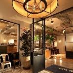 cafe104.5:開放的なエントランス!