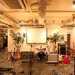 cafe104.5:広々としたステージ