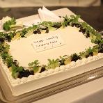 cafe104.5:おふたりオリジナルのウエディングケーキ