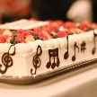 cafe104.5:音符のウエディングケーキ♪