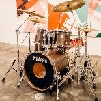 cafe104.5:ドラムの生演奏の可能 楽器レンタルも充実!
