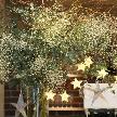 cafe104.5:星をテーマにした会場装花
