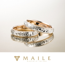 MAILE_Twotone Ring / ツートーンリング