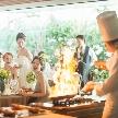 アルカンシエル luxe mariage大阪:【料理重視の方へ】おふたりで楽しく贅沢ハーフコース試食付き