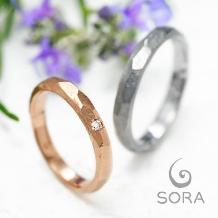 ETERNAL(エターナル) ●LUCIRーKグループ_エアーズロックから名付けられた結婚指輪。 SORA【ULU】ウル
