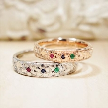 ATELIER Hu・lala_【ふたりで手作り結婚指輪】作る時間もふたりの一生の思い出に