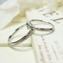 ATELIER Hu・lala_不動の人気☆★☆細身でシンプルなミル打ち結婚指輪は着けやすさバツグン♪