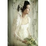 Simply Red(シンプリーレッド):【長袖ドレス】◆Simply花嫁におすすめの1着◆クラシカルなシルクドレス