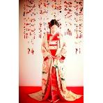 和装、白無垢、色打掛、黒引:Simply Red(シンプリーレッド)