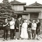 スタジオ撮影、前撮:金沢写真院