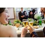 Party Wedding(パーティーウエディング):新郎新婦も乾杯!記念すべき「夫婦1日目」スタート♪