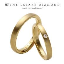 ジュレマスダ_【ラザールダイヤモンド】華やかなゴールドでエレガントな印象を