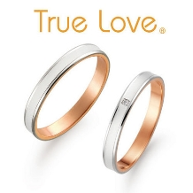 ジュレマスダ_【True Love】マットな中に輝きラインをあしらいました!軽やかリング