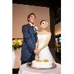 Linkage-047:ケーキ入刀~♪Ratia Weddingではオリジナルケーキの作成が可能!詳しくはプランナーまで・・・