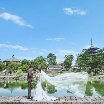 KOTOWA 奈良公園 Premium View:【衣裳68.2万円特典付】厳選和牛試食×感動チャペル&演出体験