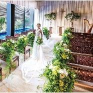 THE TENDER HOUSE(ザ テンダーハウス):【豪華試食付】緑・木・水に包まれた挙式体験×本番直前見学会
