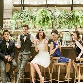 LOS ANGELES BALCONY RESTAURANT&BAR(ロサンジェルス バルコニー レストラン&バー):【自由な結婚式】緑溢れるテラス×ウェルカムパーティ体感フェア