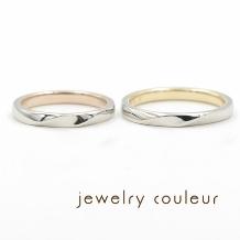 手づくり指輪工房 jewelry couleur(ジュエリークルール)_内側のおしゃれ◆ふたりの感性にしっくりくる結婚指輪_052