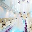 ウエコン神戸(WEDDING COMFORT ISLAND KOBE):【光のエリア】ルミエランジェ感動挙式ツアー(試食&特典付)
