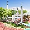 ウエコン神戸(WEDDING COMFORT ISLAND KOBE):【花と自然のエリア】アプロディール 都会のオアシス満喫フェア