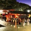 大國魂神社 結婚式場:一日一組限定♪幻想的な【かがり火挙式】先着順お申込みフェア