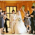 スナップ撮影、ビデオ撮影:グランマリエ●インターパーク 結婚準備情報館
