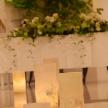 Wedding space hanami 表参道:ロマンチックなキャンドル♪高砂までのお二人の道を照らします。