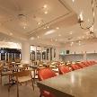 Wedding space hanami 表参道:ムードを高める照明、空間を演出いたします。