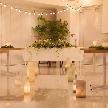 Wedding space hanami 表参道:ナチュラル感の演出もおまかせください