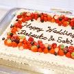 Wedding space hanami 表参道:こんな立派なウェディングケーキがついてきます^^♪