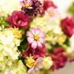 Wedding space hanami 表参道:お花もお手配可能です!お二人の理想の装飾で会場を飾りましょう。