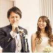 Wedding space hanami 表参道:新郎様からのご挨拶